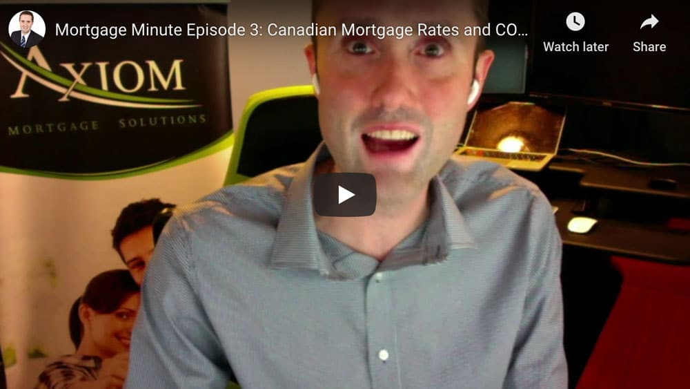 VIDEO: Canadian Mortgage Rates and COVID-19